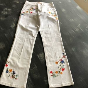Tory Burch Embroidered Pants